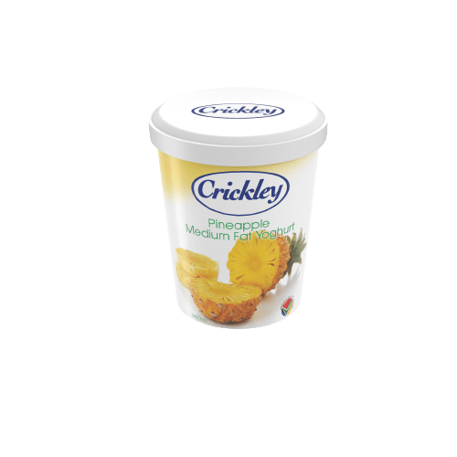 CRICKLEEY DAIRY - YOGURT - Pineapple-500g