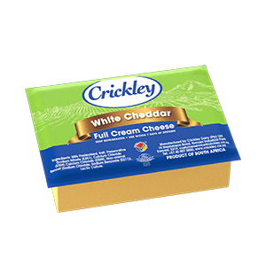CRICKLEY - WHITE CHEDDAR 840G