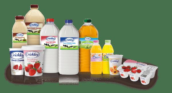 Crickley Dairy Product Range1