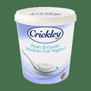 Crickley Dairy - Yogurt_LowFat_1kg_Smooth-Plain