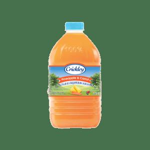 Crickley-100% - Pineapple-carrot-new